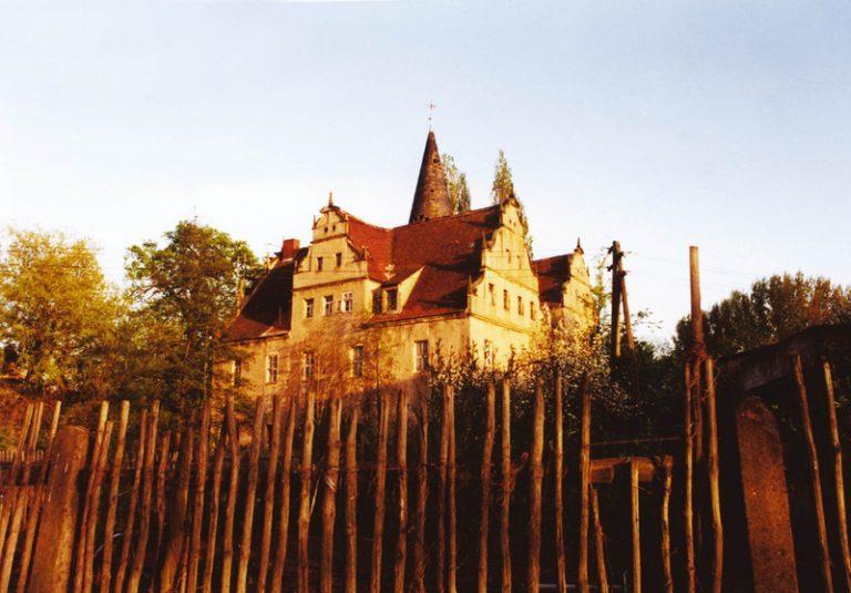 Schloss von Südwesten